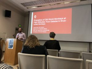 Jacob Kraus presents his talk at the 2018 conference for MPIG.